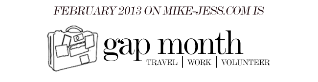 The stroke blog welcome to gap month win a round the world gap