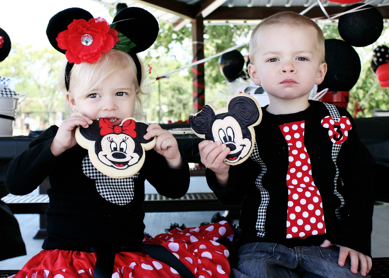 Bubbi And Boo Mickey And Minnie Party