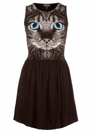 Topshop cat print skater dress 28 50 modelos populares de vestido das mulheres, criação de vestido das senhoras em 2015, senhoras vestidos de noite vestido de noite de moda 2015