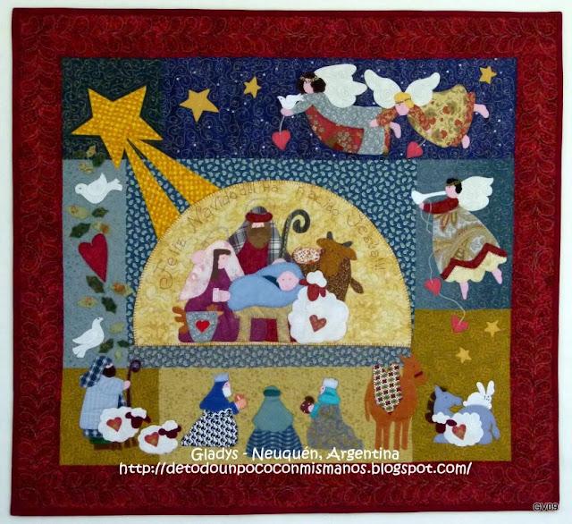 De todo un poco con mis manos patchwork mis quilts - Patrones de casas de patchwork gratis ...