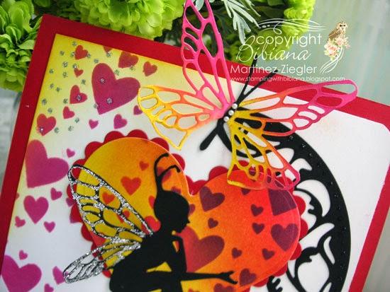 lavinia's alura die for valentine's detail wings
