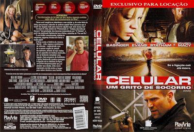 Filme Celular - Um Grito de Socorro DVD Capa