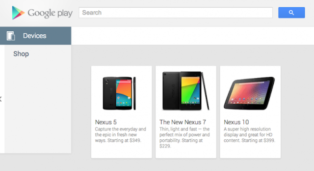 Google Nexus 5 Accidentally Revealed in Google Play Store!