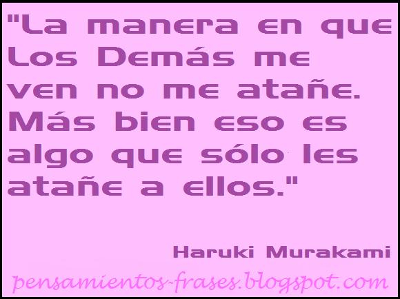 frases de Haruki Murakam