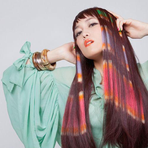 hair stencilling - amazing design