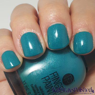 FingerPaints Tis the Season to Sparkle - Vintage Vincent | Kat Stays Polished