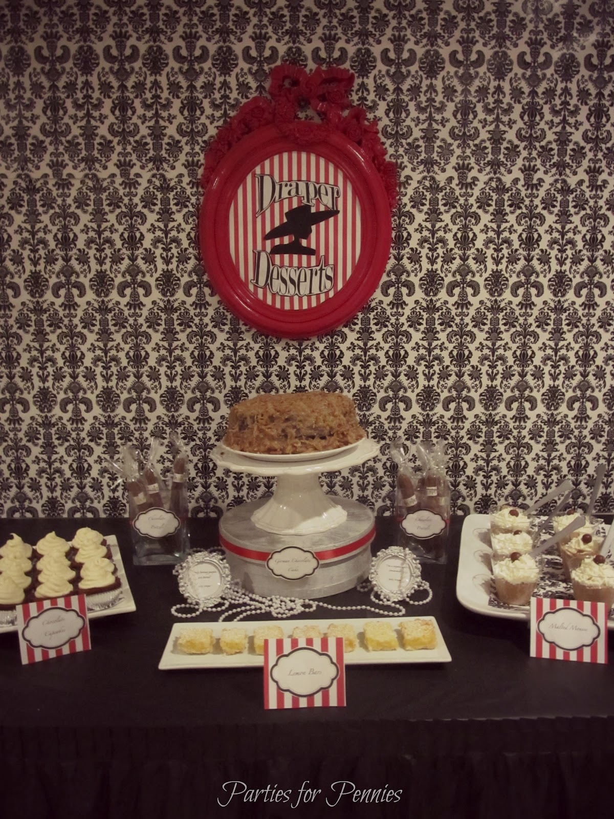 Mad Men Party - part 2 - Parties for Pennies