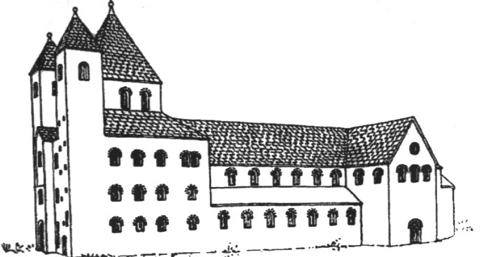 Pianta Architettura Definizione : Architettura altomedievale romanica e gotica il