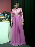 Dress Sanding Pink Belacan