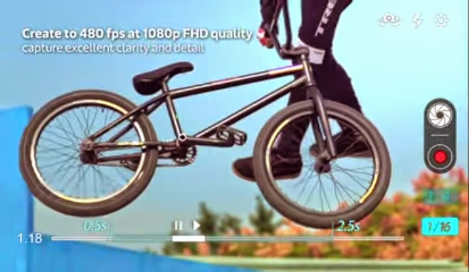 MediaTek rilis video promo chipset MT6795, gerak lambat 480fps aksi BMX