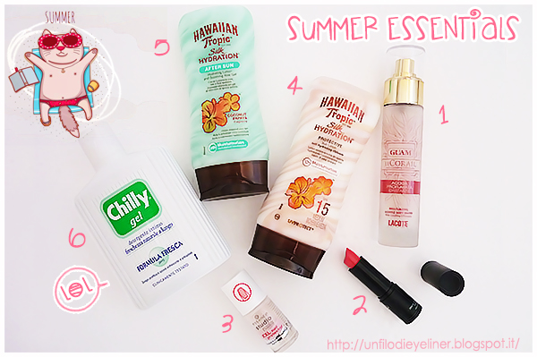 Tag: My Summer Essentials Make Up Edition