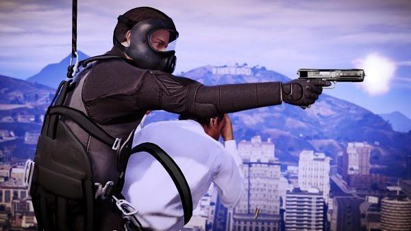 Grand Theft Auto pistola