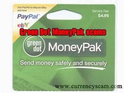 MoneyPak scams