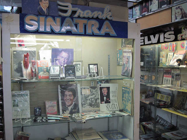 Colony Records celebrates classic Old New York performers like Sinatra and Elvis