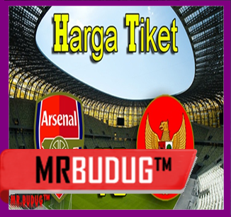 Daftar Harga Tiket Pertandingan Arsenal vs Indonesia 14 Juli 2013 - MR