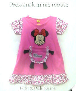 dress anak terbaru minie mouse