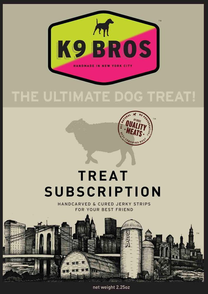 Subscribe and save[the ultimate dog treat]