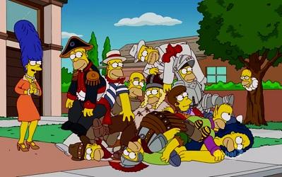 Los Simpsons 24x02: La Casita del Horror XXIII - Español Latino
