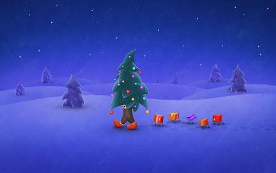 Arbol de Navidad muy divertido - Funny Christmas Tree