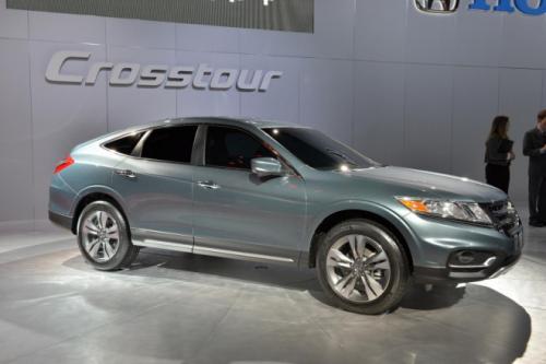 2013 Honda Crosstour Concept Revealed In New York Carsfresh