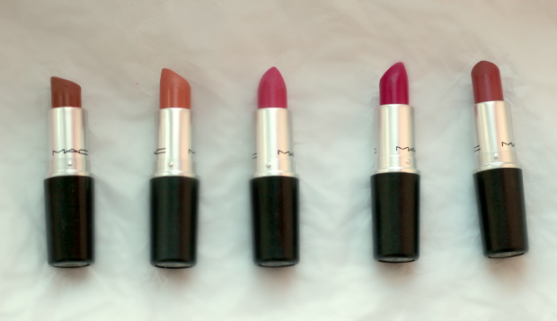mac, lipstick, collection, beauty, makeup, pinks, Velvet Teddy, Shy Girl, Pink Nouveau, Girl About Town, Mehr