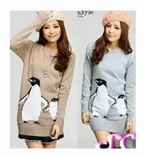 grosir baju rajut model pinguin