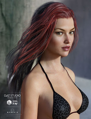 For more informations click here 3d Models Art Zone - Capsces Fun and Flirty Victoria 7, Krayon Hair for Genesis 3 Female(s) and Leyton Hair for Genesis 3 Female(s) and Genesis 2 Female(s)