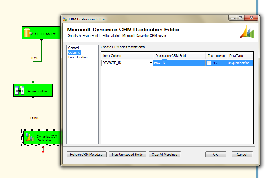 Dynamics CRM and SSIS Integration