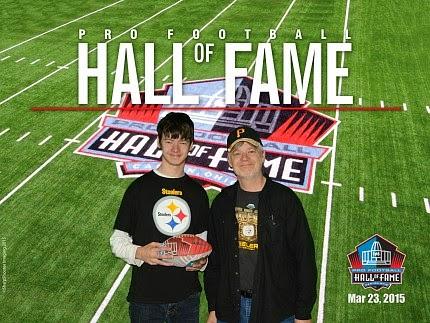 Hall Of Fame fun with Matt