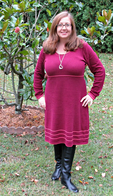 Merlot Knit Dress from Aventura Clothing