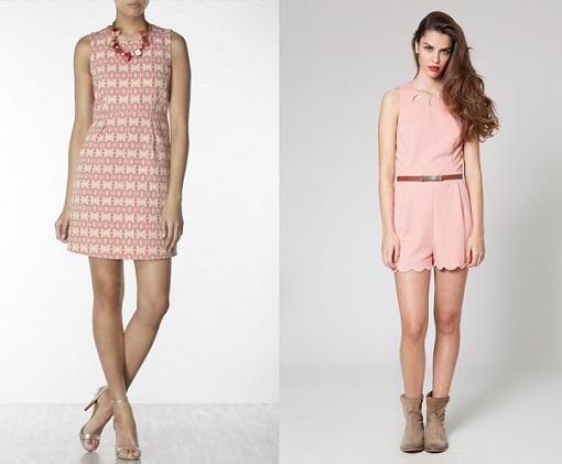 Vestidos color pastel de moda