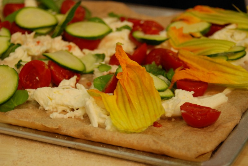 sana 2014 pizza con verdure showcooking antonio scaccio ecor