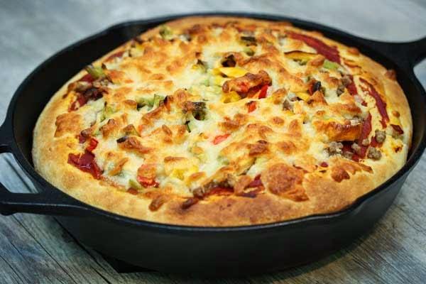 skillet-pizza