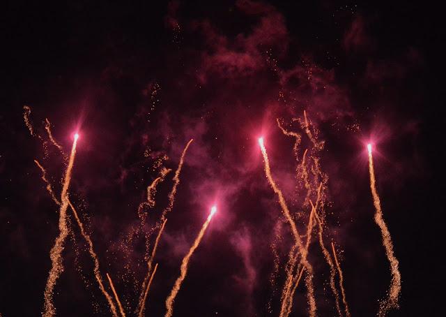 Bonfire Night 2015 Milford Marina Fireworks