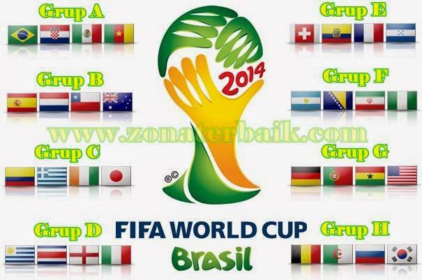 Klasemen Grup Piala Dunia 2014