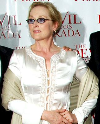 Meryl Streep vestido fashion