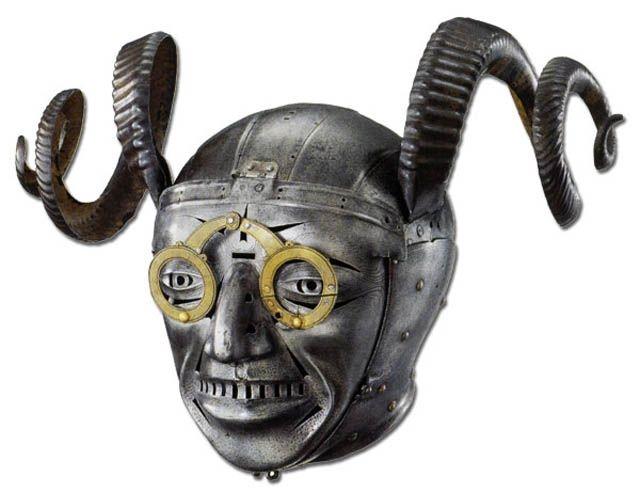 HenryVIII+horned+helmet