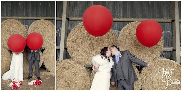 wedding balloons, giant balloons, bride in window, bridal prep, vintage wedding, high house farm brewery wedding, northumberland wedding photography katie byram photography,