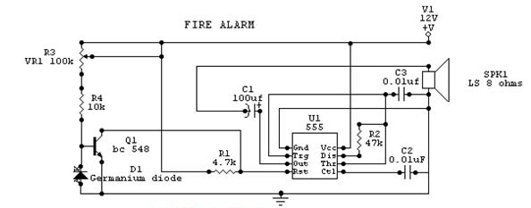 Fire alarm circuit diagram electronic circuits diagram fire alarm circuit diagram publicscrutiny Choice Image
