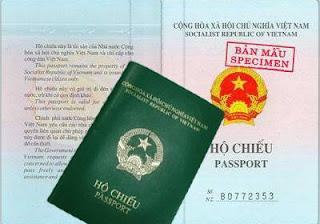 hộ chiếu Passport phổ thông