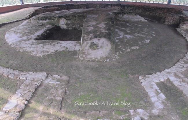 Relic Stupa in Vaishali Bihar