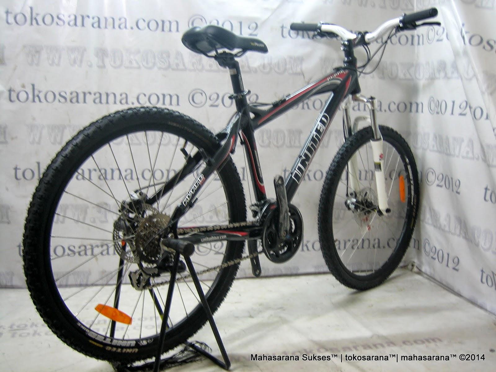 Sepeda Gunung United Avand 24 Speed Shimano Altus/Alivio 26 Inci