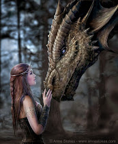 High Princes Elf with her Dragon!