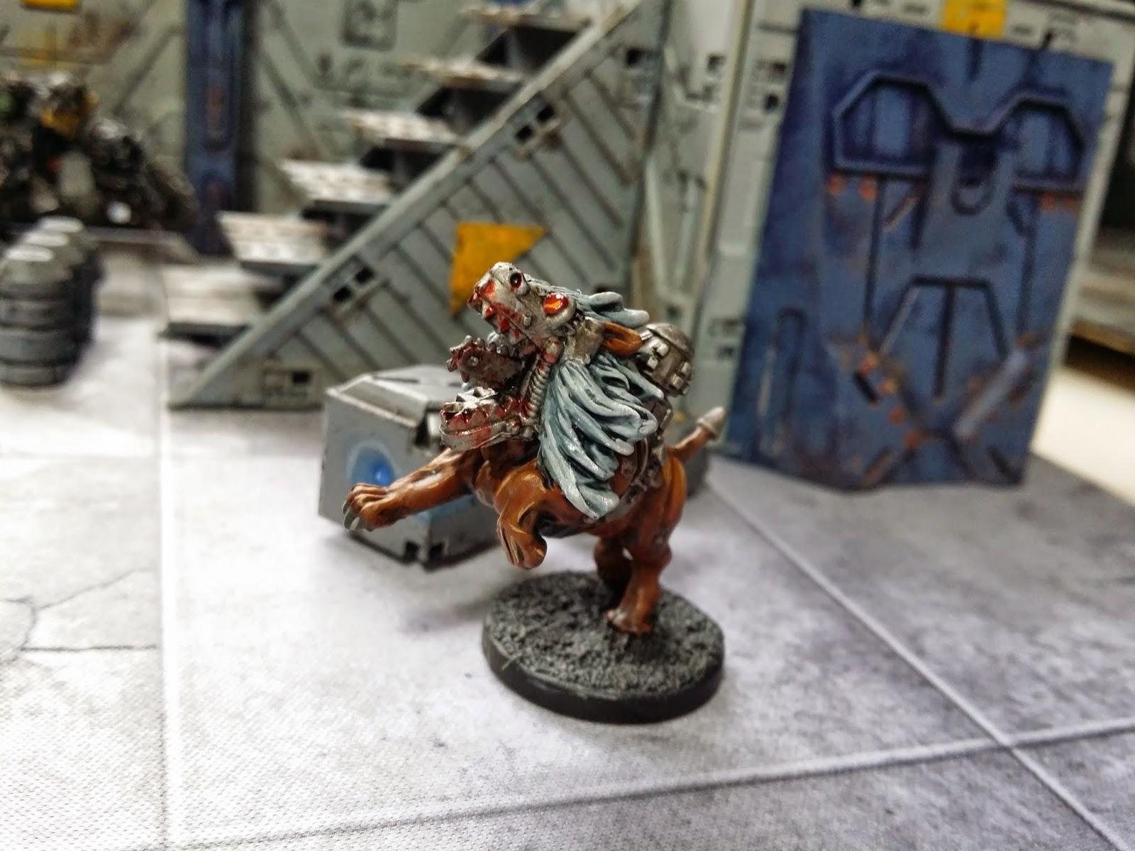 Mantic Deadzone Marauder Mawbeast Bomber