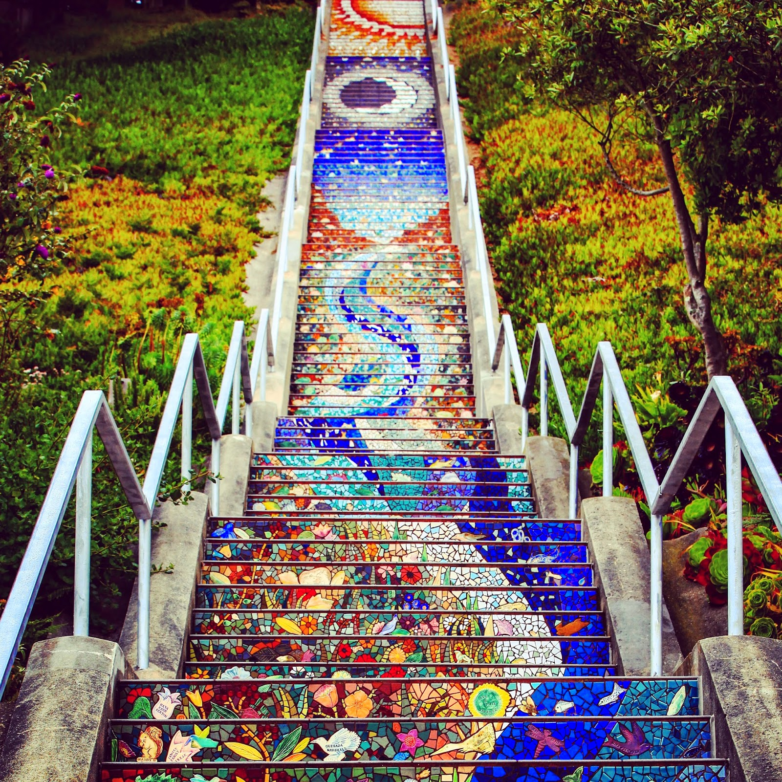 16th Avenue Mosaic Steps