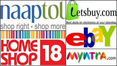 naaptol, myntra.com,ebay,homeshop18,letsbuy.com; intelligent computing