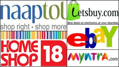 naaptol, myntra.com,ebay,homeshop18,letsbuy.com; intelligent computing