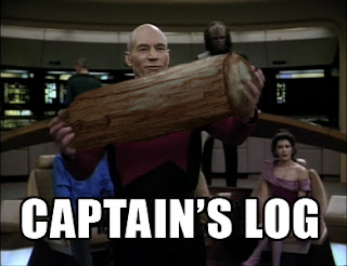 star trek captains log, star trek funny pictures