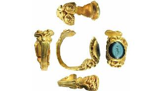 Ditemukan Cincin Emas Romawi Berumur 1.700 Tahun