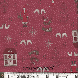 Lecien SCANDINAVIAN CHRISTMAS Quilt Fabric by Lynette Anderson